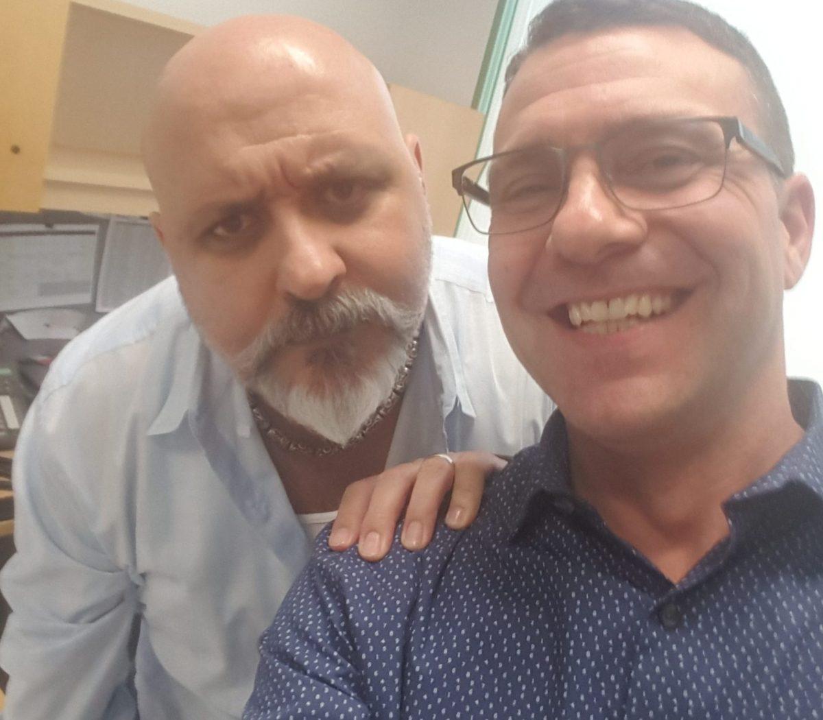 Neil Saavedra and Tom Smith