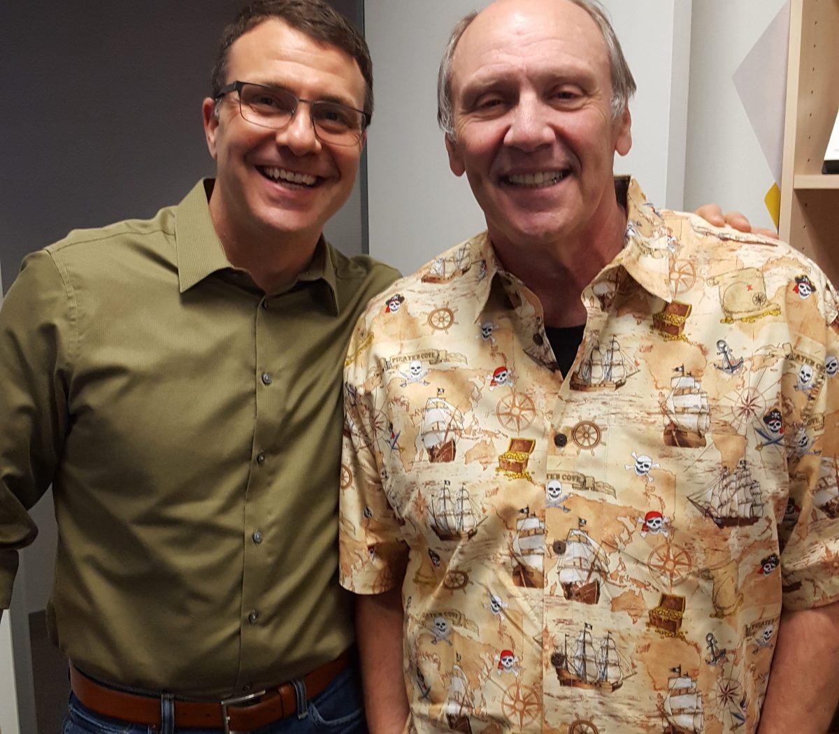 Tom Smith and Bill Handel